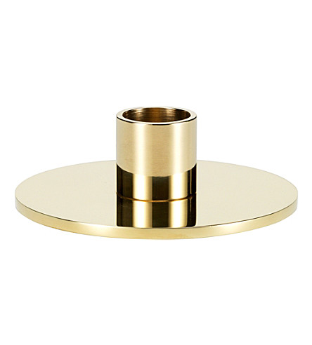 VITRA Circle brass candle holder