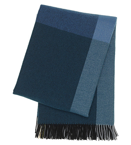 VITRA Colour block wool blanket