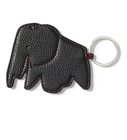 VITRA Elephant leather keyring