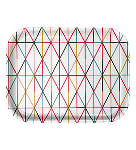 VITRA Alexander Girard Grid medium laminated tray