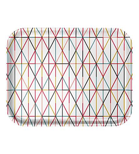 VITRA Alexander Girard Grid large laminated tray