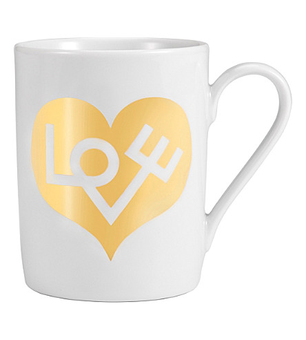 VITRA Alexander Girard Love Heart coffee mug