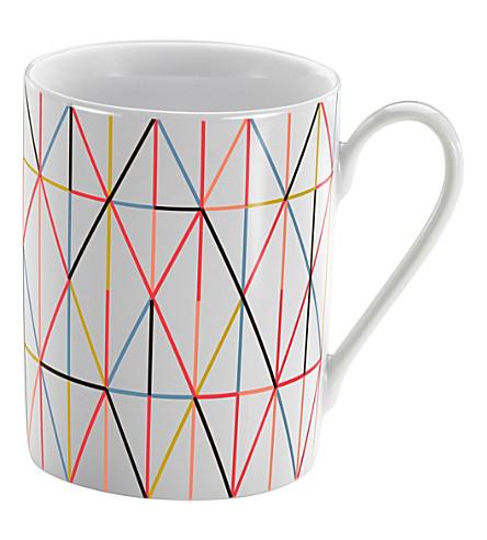 VITRA Alexander Girard Grid coffee mug