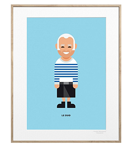 IMAGE REPUBLIC Jean-Paul Createurs print 40x30cm