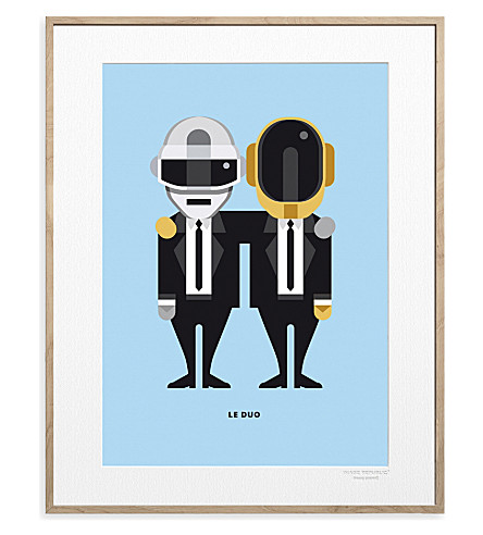 IMAGE REPUBLIC Daft Punk Solo print 40x30cm