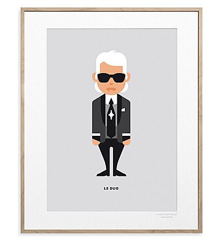 IMAGE REPUBLIC Karl Lagerfeld Solo print 40x30cm