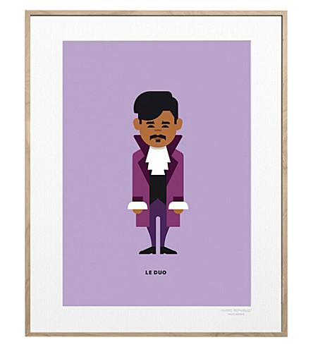 IMAGE REPUBLIC Prince Solo print 40x30cm