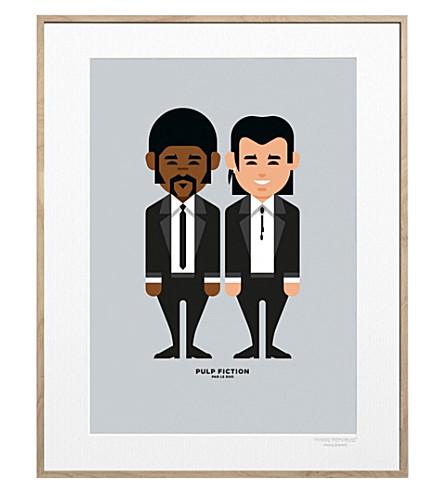 IMAGE REPUBLIC Pulp Fiction Solo print 40x30cm