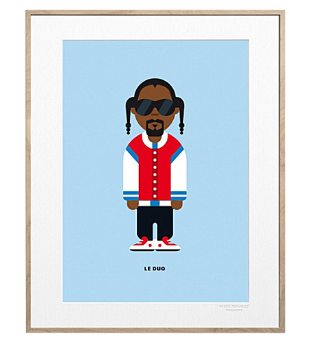 IMAGE REPUBLIC Snoop Dogg Solo print 40x30cm