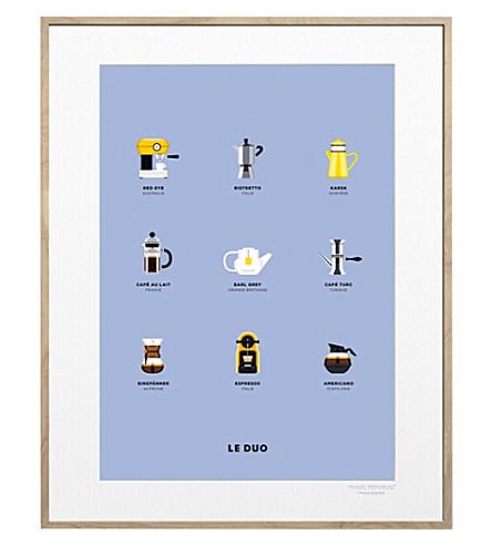 IMAGE REPUBLIC Le Duo Café print 40x50cm