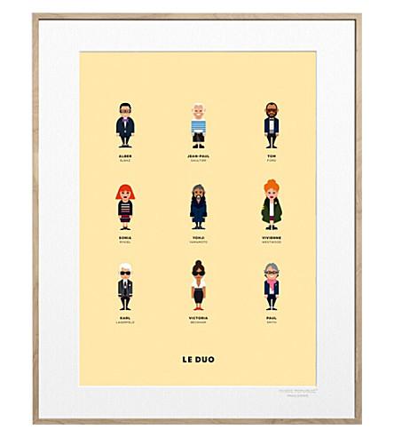 IMAGE REPUBLIC Le Duo Createurs print 40x50cm