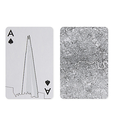 SKYLINE CHESS London playing cards