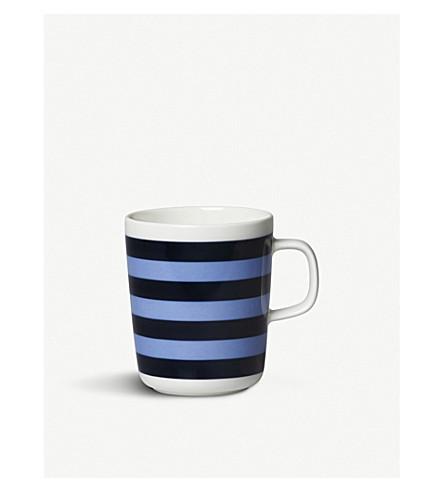 MARIMEKKO Tasaraita Stripe porcelain mug