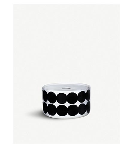 MARIMEKKO Oiva Siirtolapuutarha small porcelain storage jar
