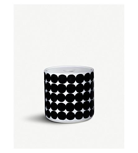 MARIMEKKO Oiva Siirtolapuutarha medium porcelain storage jar 11cm