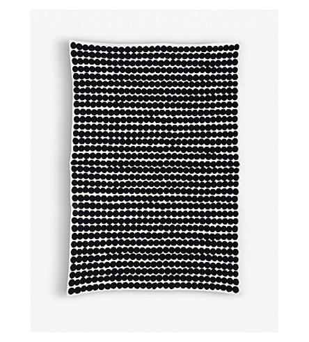 MARIMEKKO Rasymatto graphic wool-blend blanket 130x182cm