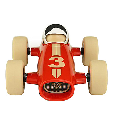 PLAYFOREVER Malibu Benjamin race car toy