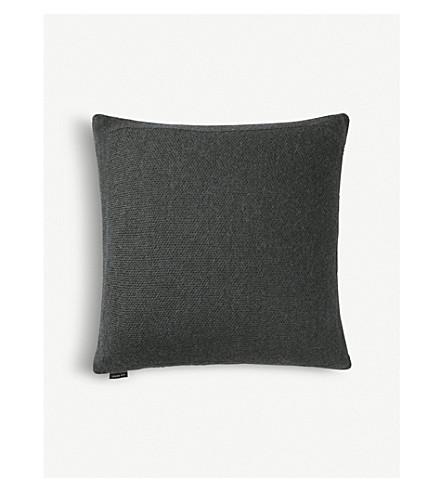 LOUISE ROE Alpaca-piqué cushion cover 50x50cm