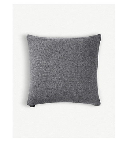 LOUISE ROE Alpaca-piqué cushion cover 50x50cm