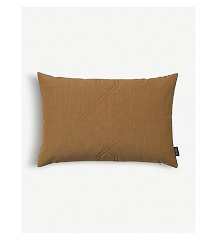 LOUISE ROE Diamond textile cushion cover 40x60cm