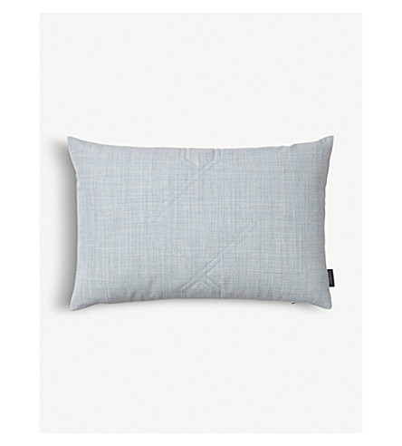 LOUISE ROE Diamond textile cushion cover 40x60cm