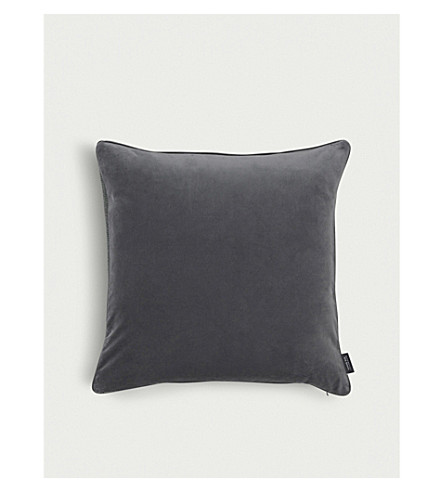LOUISE ROE Velvet cushion cover 60x60cm