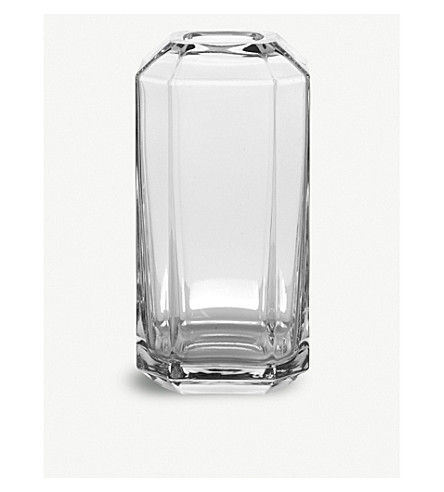 LOUISE ROE Jewel glass vase 16cm
