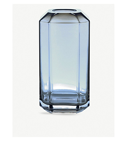 LOUISE ROE Jewel glass vase 16cm