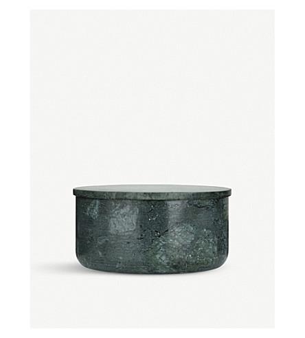 LOUISE ROE Gretha green marble pot 9cm