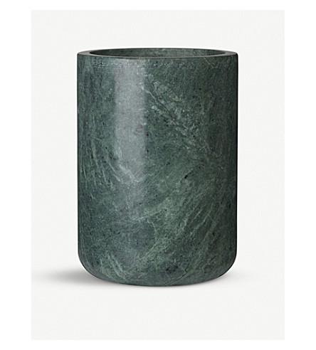 LOUISE ROE Grace marble vase 17.5cm