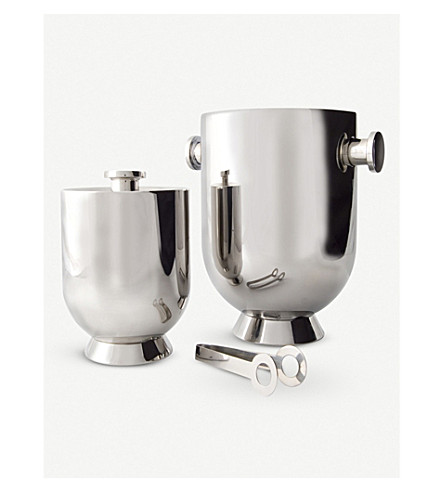 NICK MUNRO Trombone insulated ice bucket w/tongs