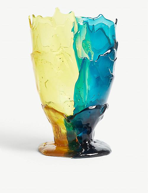 CORSI DESIGN Twins resin vase 19cm