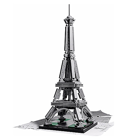 LEGO Eiffel Tower architecture