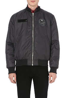 GIVENCHY Military badge bomber jacket