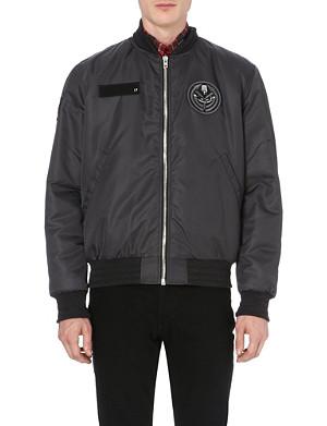 GIVENCHY Military badge bomber jacket
