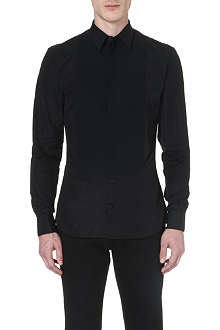 GIVENCHY Contrast-panel dinner shirt