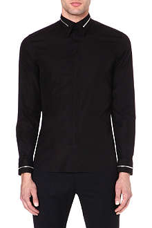 GIVENCHY Zip-detailed cotton shirt