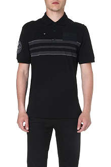 GIVENCHY Appliquéd polo shirt