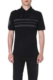 GIVENCHY Appliquéd polo shirt