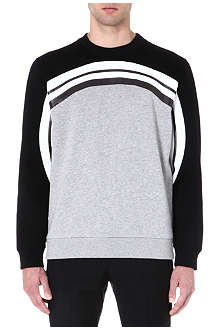 GIVENCHY Monochrome Rainbow sweatshirt