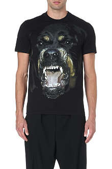 GIVENCHY Rottweiler cotton t-shirt