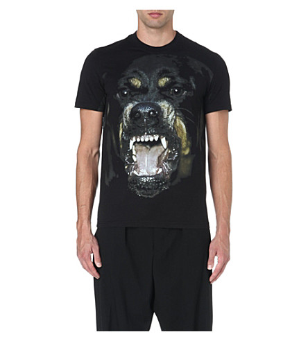 GIVENCHY Rottweiler cotton t-shirt (Black