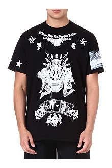 GIVENCHY Alien Dead cotton t-shirt