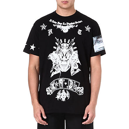 GIVENCHY Alien Dead cotton t-shirt (Black