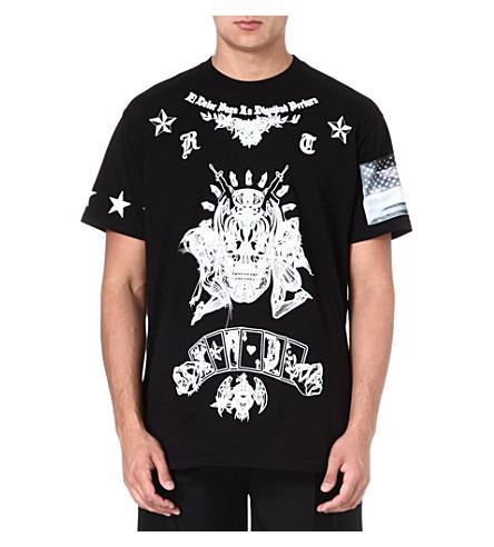 GIVENCHY Alien Dead cotton t-shirt (Black