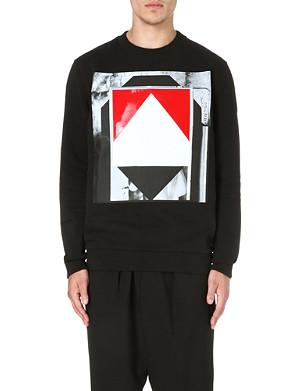 GIVENCHY Geometric-print sweatshirt