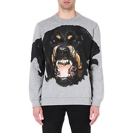 GIVENCHY Rottweiler sweatshirt (Grey