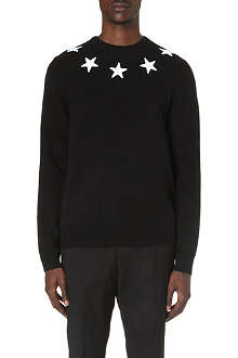 GIVENCHY Beck Star knitted jumper