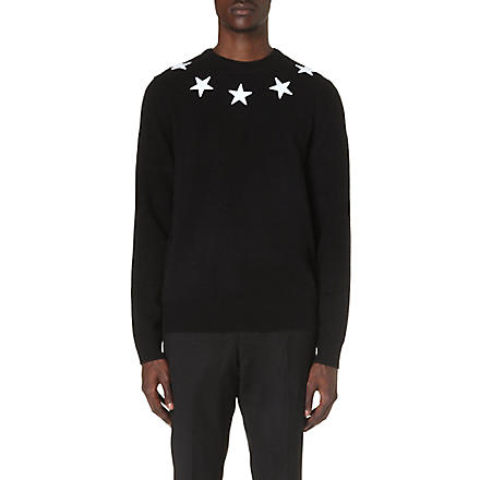 GIVENCHY Beck Star knitted jumper (Black