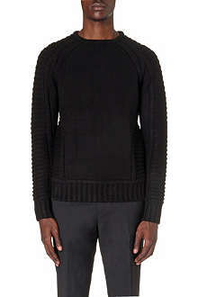 GIVENCHY Chunky ribbed knit jumper